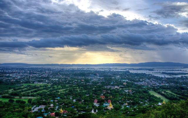 Vẻ Đẹp Hoàn Mỹ Trên Đồi Mandalay
