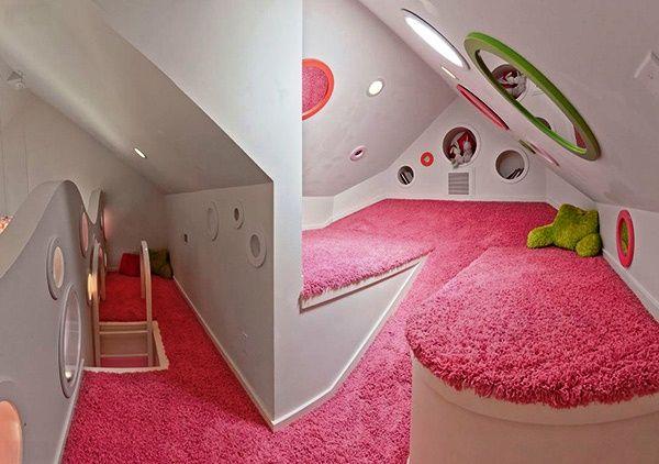 Gambar Dekorasi Desain Interior Kamar Tidur Unik Dan Kreatif