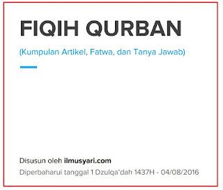 Download Ebook Pdf  FIQIH QURBAN : KUMPULAN ARTIKEL, FATWA, DAN TANYA JAWAB