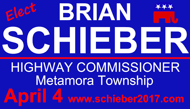 Local Candidate Profile: Brian Schieber,Metamora Herald