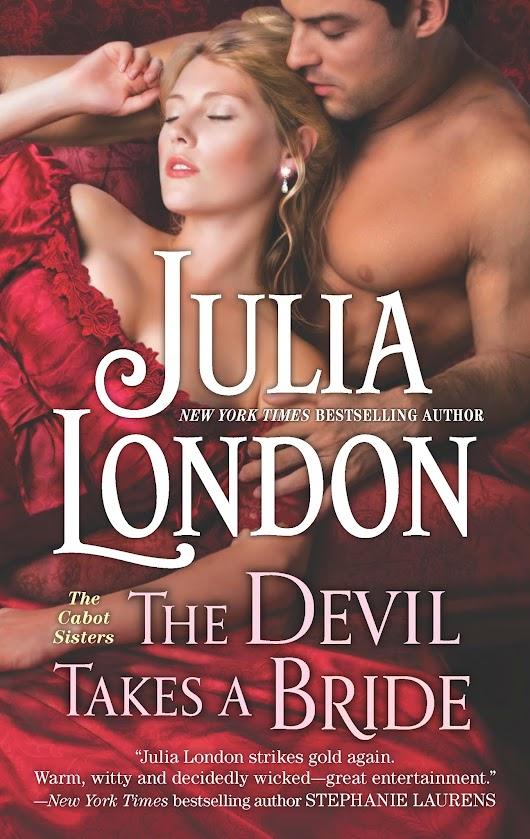 Cover Reveal: The Devil Takes a Bride by Julia London  | Just Another New Blog