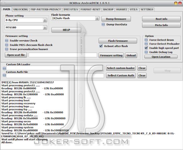 Tecno K9 Clone Firmware