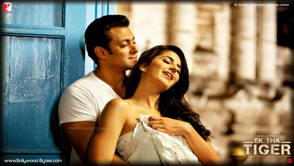 Ek Tha Tiger Hot Katrina Kaif Salman Khan HD Wallpaper