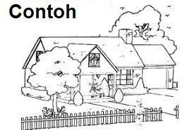 cara menggambar rumah saat psikotes