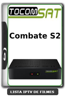 Tocomsat Combate S2 Nova Atualização Satélite SKS keys 61w ON V1.37 - 31-03-2020