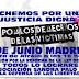 Manifestación  en Madrid de la Asociación Sandra Palo