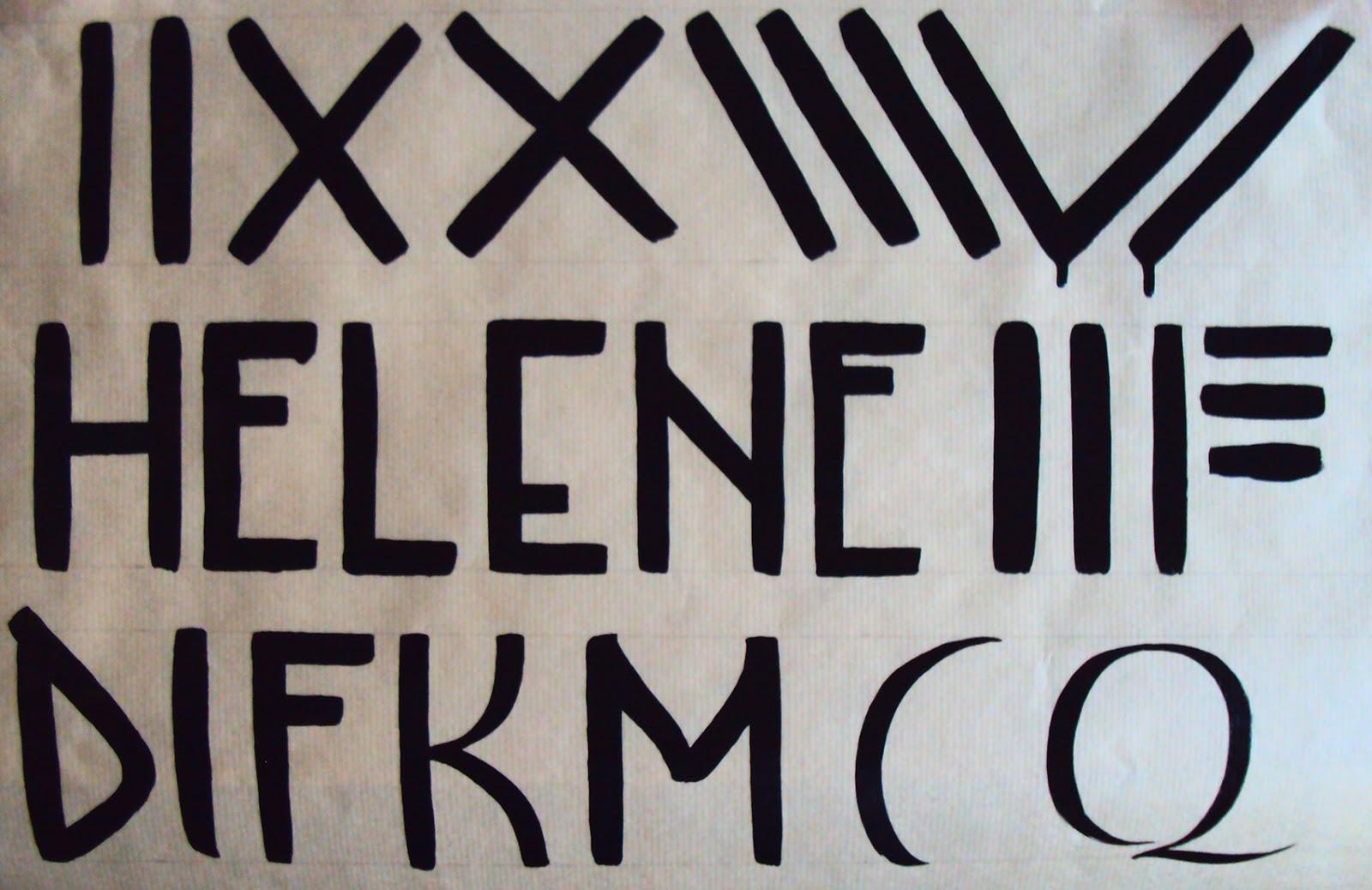 calliglyphe initiation peintre en lettres. Black Bedroom Furniture Sets. Home Design Ideas