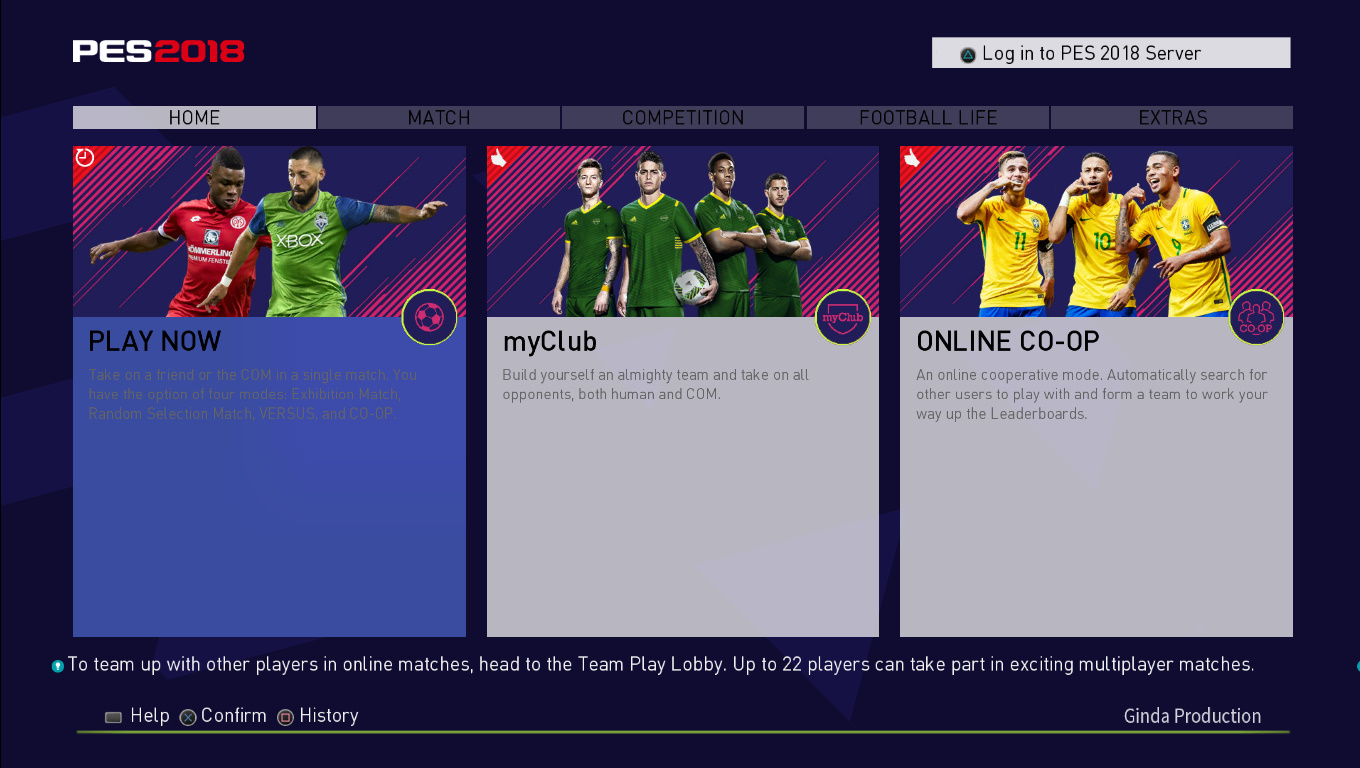 PES 2018 FIFA 18 Style Theme by Ginda01 ~ PESNewupdate com | Free
