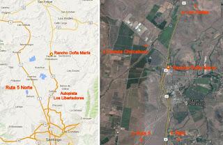 Rancho Doña Maria Mapas ubicacion