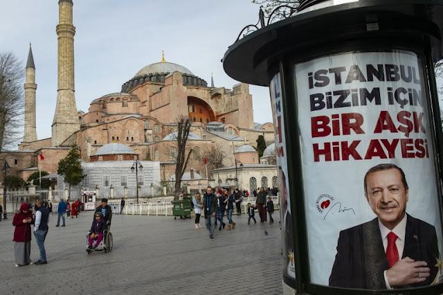 Erdogan: Hagia Sophia akan Jadi Masjid, tidak Lagi Museum