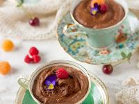 AQUAFABA CHOCOLATE MOUSSE ( VEGAN & SUGAR-FREE)