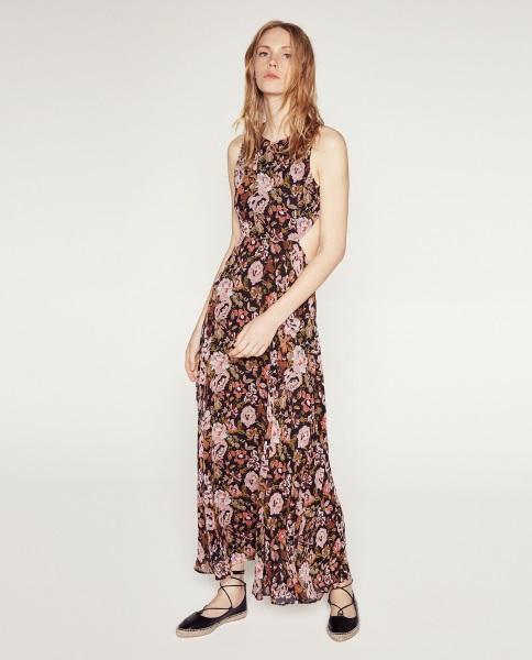 Vestidos largos de verano de zara