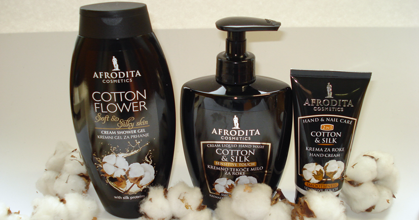 baroque fool: Afrodita Cosmetics Cotton & Silk collection ...