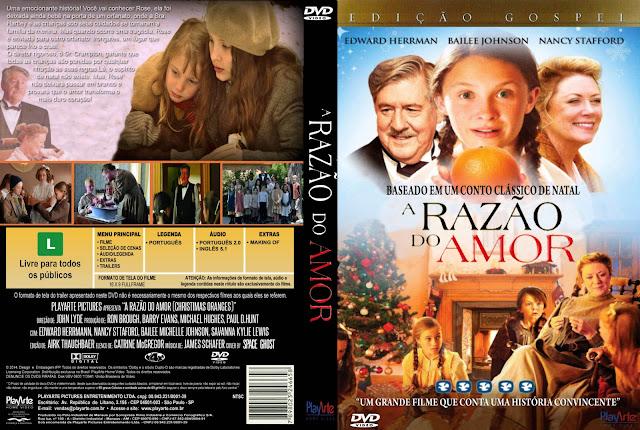 Capa DVD A Razão Do Amor