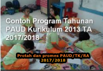 DOWNLOAD PROMES PROTAH PAUD TA 2017/2018