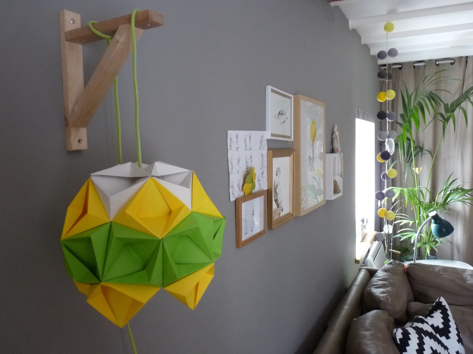 rue rivoirette diy ma lampe origami. Black Bedroom Furniture Sets. Home Design Ideas