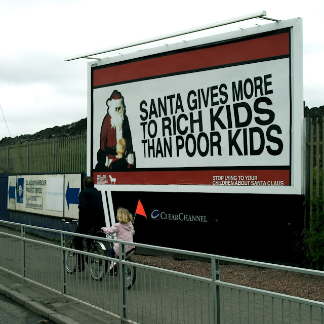 Santa gives more to Rich Kids than Poor Kids - Stop lying to your children about Santa Claus