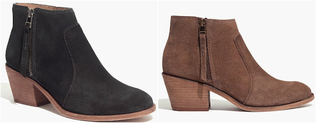 Madewell Janice Boot in Suede $110 (reg $218)