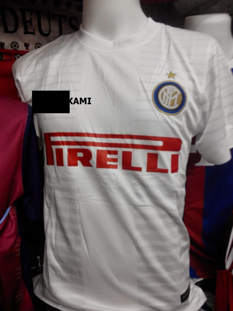 3ed497ef1 JERSI FC INTER MILAN AWAY 2014-2015   GRED PLAYER ISSUES