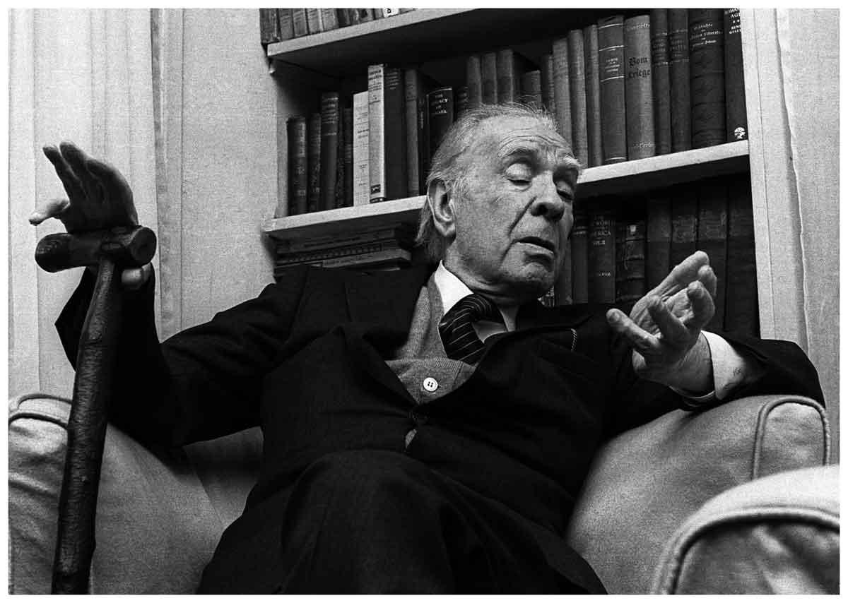 Borges todo el a o jorge luis borges arp as for Borges el jardin