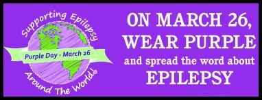 Today is Purple Day | Pakai Baju Ungu Hari Ini Tanda Sokongan Kepada Pesakit Sawan!