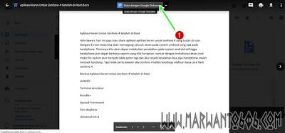 Cara Convert Word ke Pdf dengan Google drive