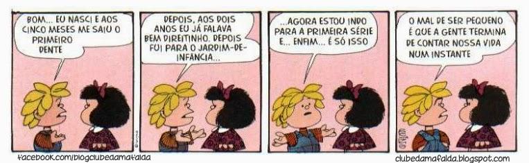 Melhor tirinha da Mafalda
