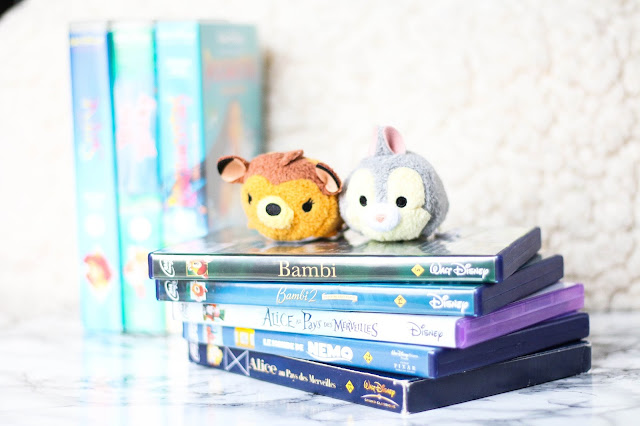 DVD K7 et Tsumtsum Disney