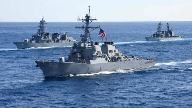 Pekín denuncia 'provocación' de EEUU en el mar del Sur de China