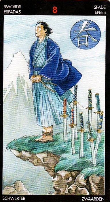 Intuitive Creations Lady Radha: 8 Of Swords, King of