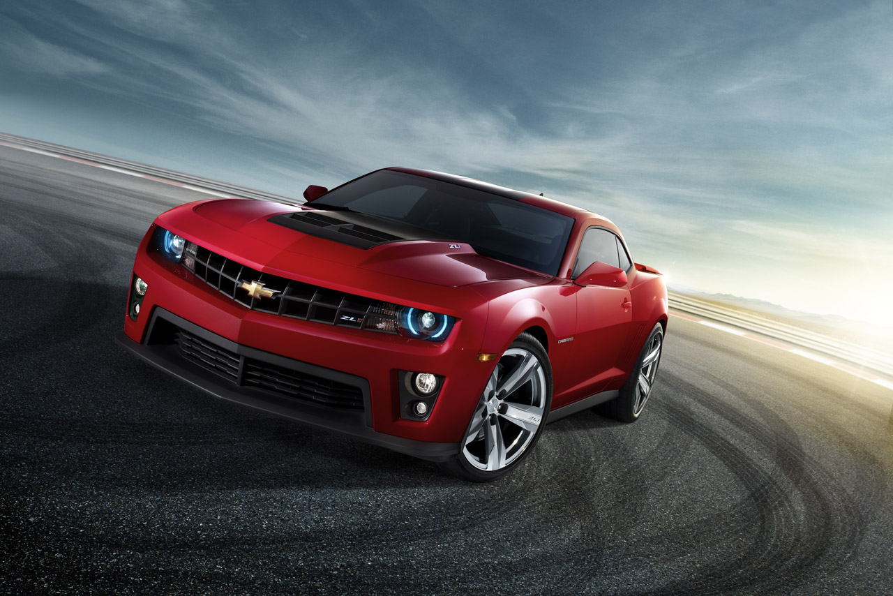 The Hottest Muscle Cars In The World: Chevrolet Camaro ZL1