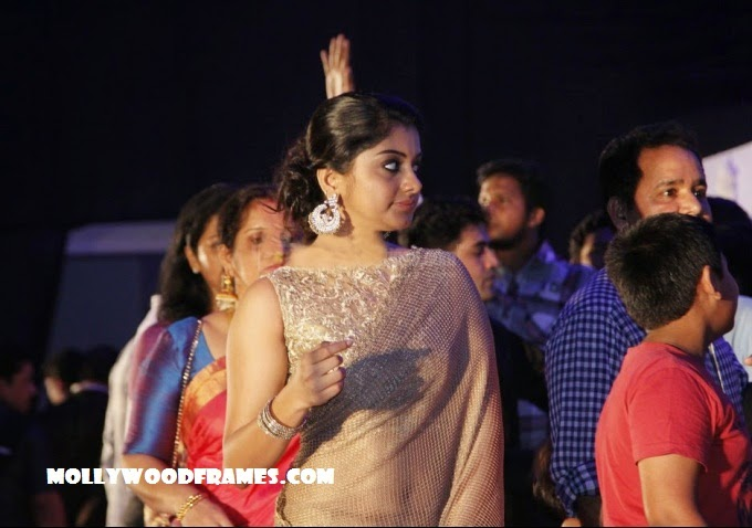 Meera Nandan at Fahad-Nazriya wedding