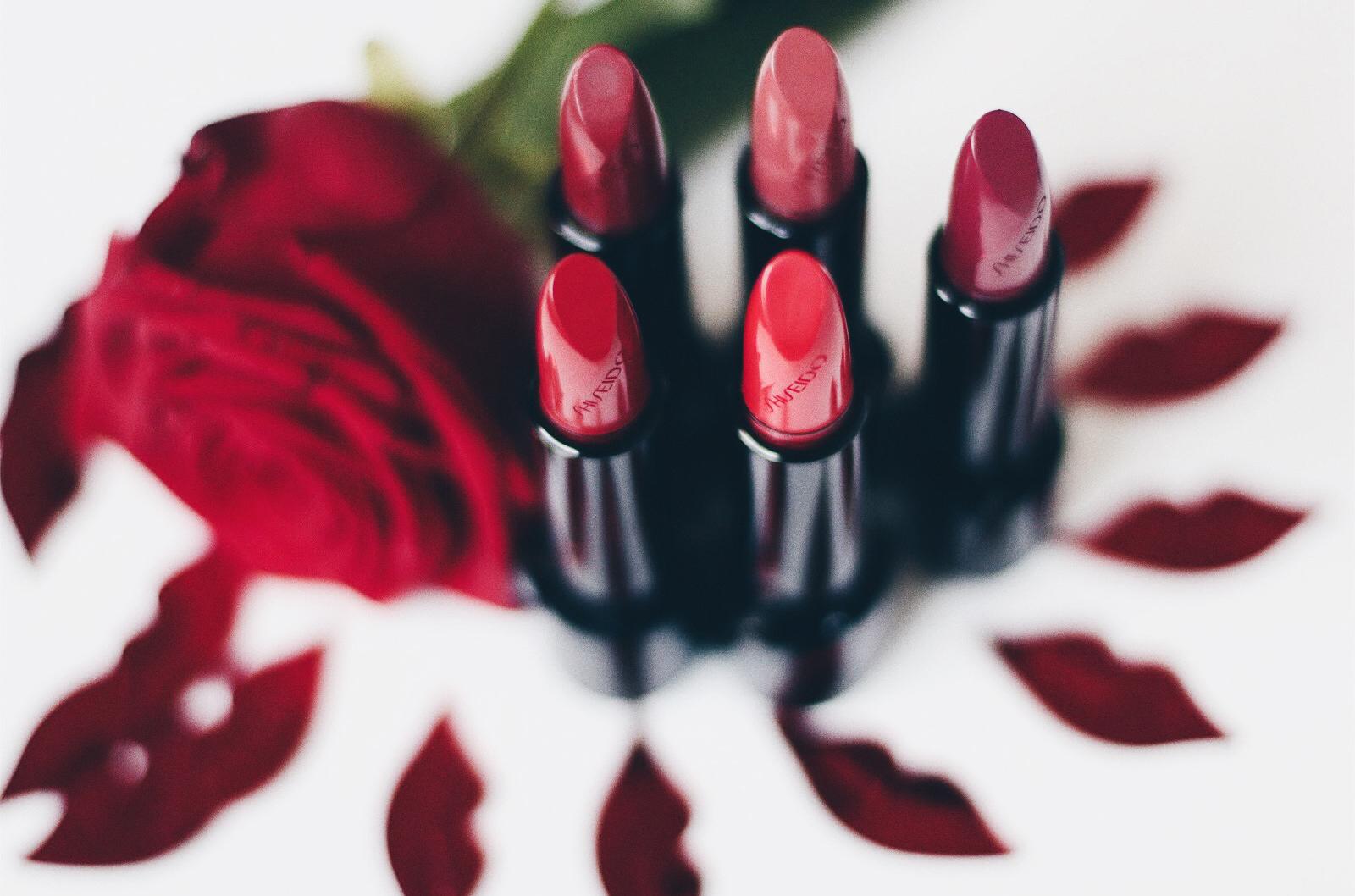 shiseido rouge rouge nouveau rouge à lèvres avis test swatches