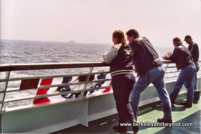 Cape May-Lewes Ferry, passengers on deck