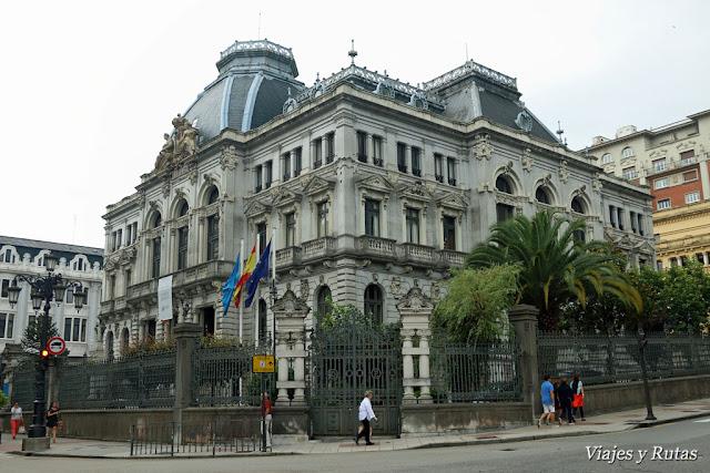 Junta del Principado de Asturias, Oviedo