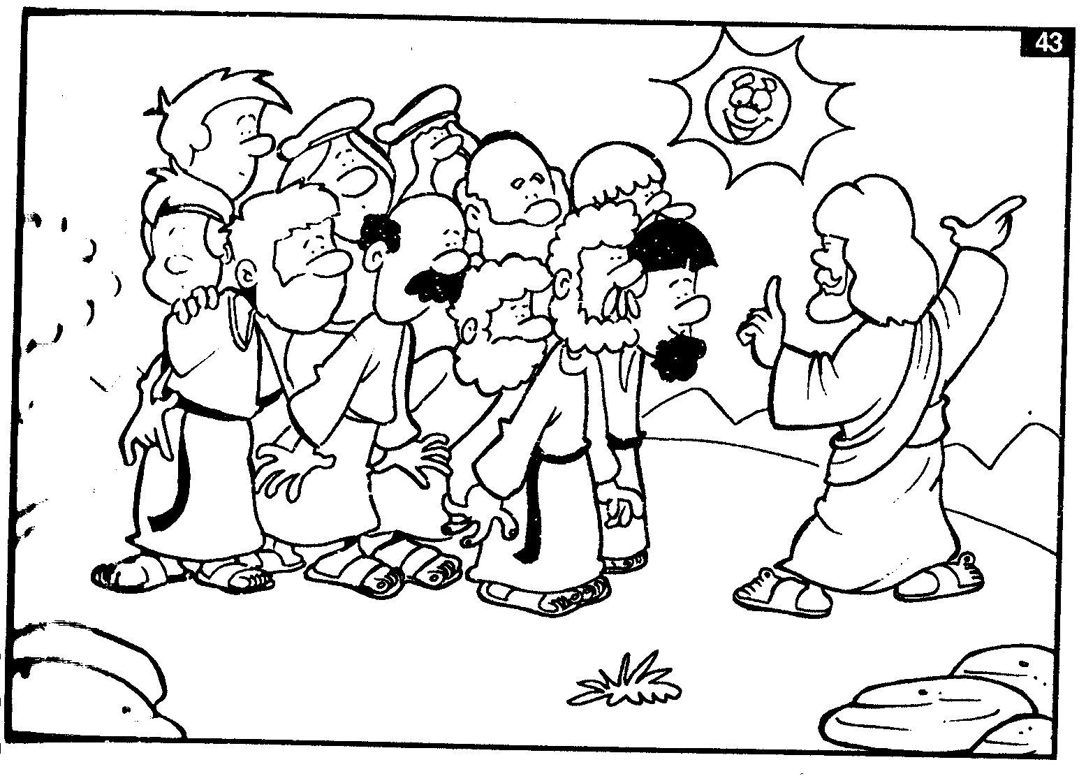 me aburre la religi u00d3n  historia ilustrada para colorear  muerte y resurrecci u00d3n de jes u00das