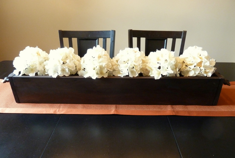 everyday centerpieces for dining room tables | Cookin' Cowgirl: DIY Homemade Centerpiece