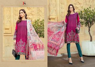 Deepsy Maria b 2 lawn 19 Pakistani Suits wholesaler