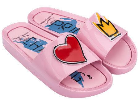 Image of Vivienne Westwood Anglomania Melissa Pink Pool Slides