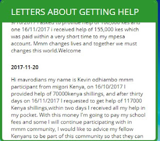 MMM Kenya official website and testimonials