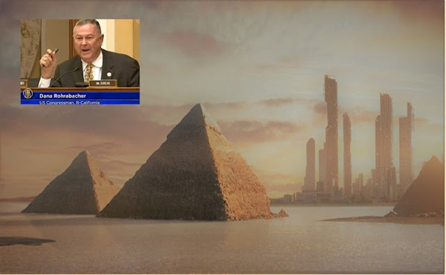 Viajes al espacio, pirámides