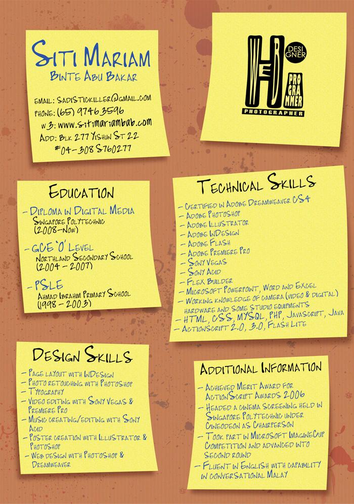25 excelentes ejemplos de curriculum vitae creativos  Diseo Grfico  web