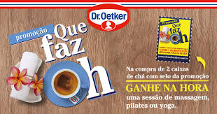 Promoção Chá Dr. Oetker