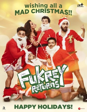 Fukrey Returns (2017) Hindi 720p HDRip