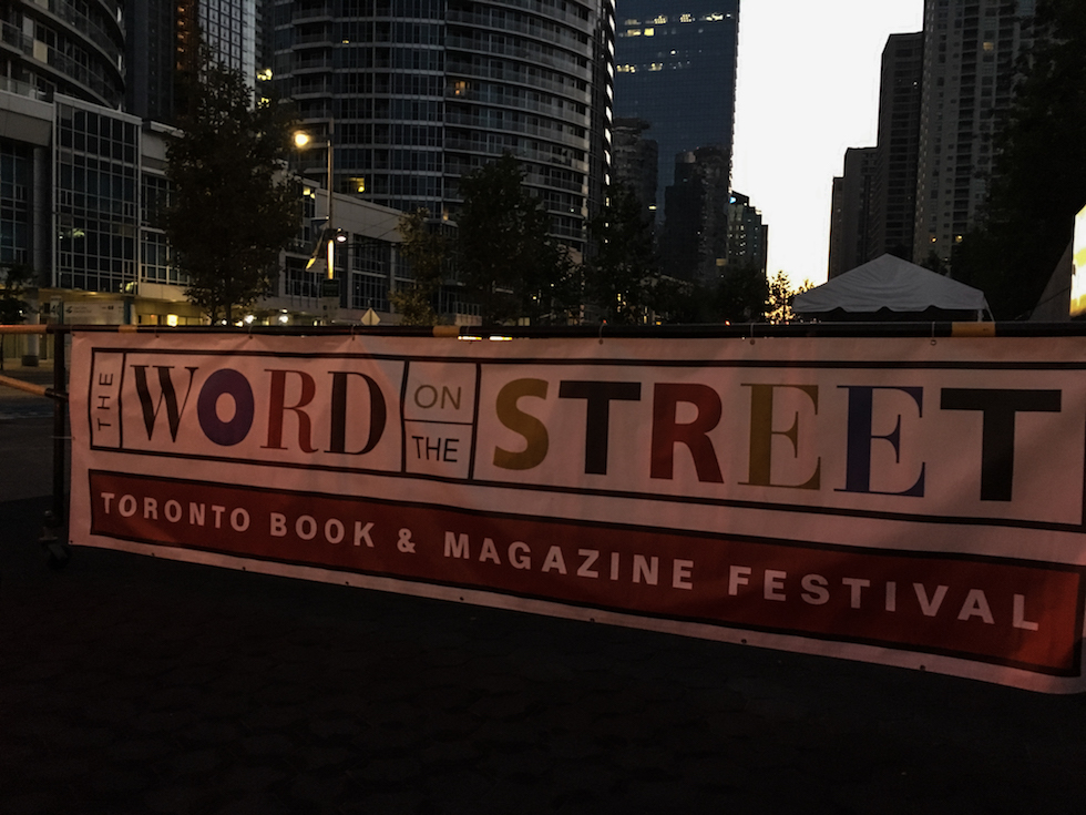 blank spaces at word on the street toronto
