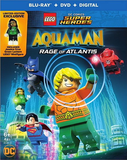LEGO DC Comics Super Heroes Aquaman – Rage of Atlantis (2018) 720p y 1080p BDRip mkv Dual Audio AC3 5.1 ch