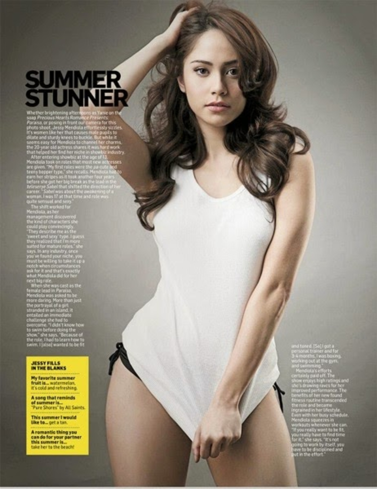 jessy mendiola sexy mens health magazine bikini pics 03