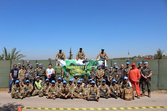 "Prajurit Indobatt XXIII-K Laksanakan Environment Exercise ""Green Zone 2017"""