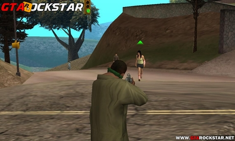 Mod Pedestres Viram Zumbis para GTA San Andreas