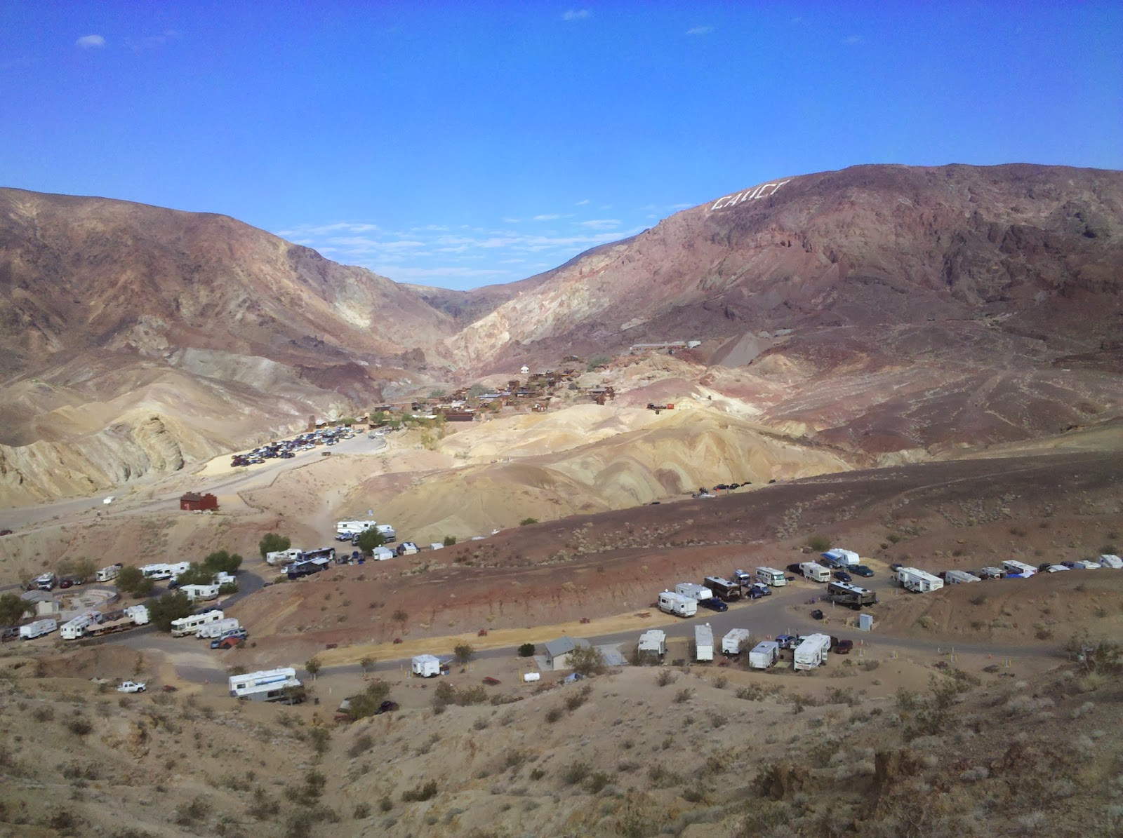 Campgroundcrazy Calico Ghost Town Campground Barstow